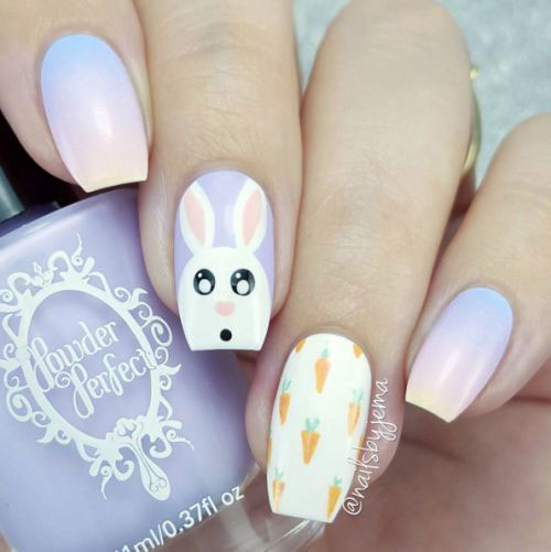 15-Easter-Bunny-Nails-Art-Designs-Ideas-2017-3
