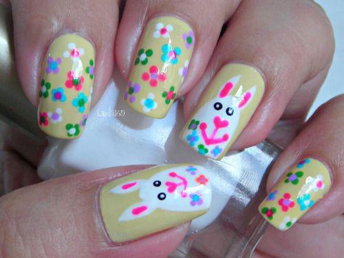 15-Easter-Bunny-Nails-Art-Designs-Ideas-2017-8