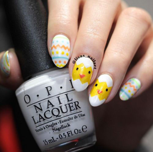 15-Easter-Chick-Nails-Art-Designs-Ideas-2017-1