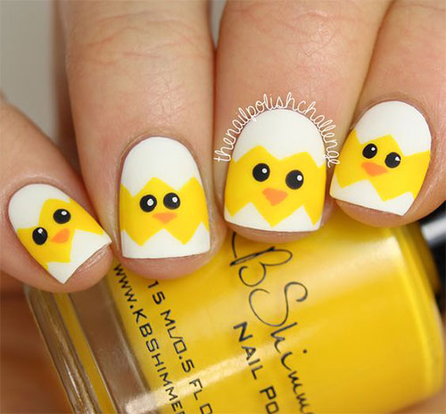 15-Easter-Chick-Nails-Art-Designs-Ideas-2017-10