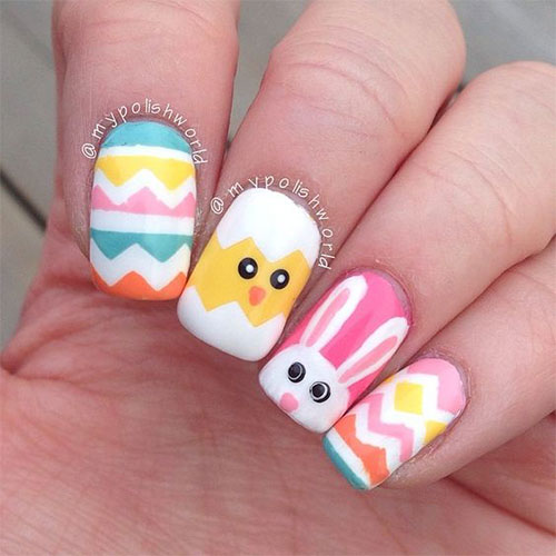 15-Easter-Chick-Nails-Art-Designs-Ideas-2017-14