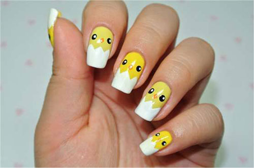 15-Easter-Chick-Nails-Art-Designs-Ideas-2017-16