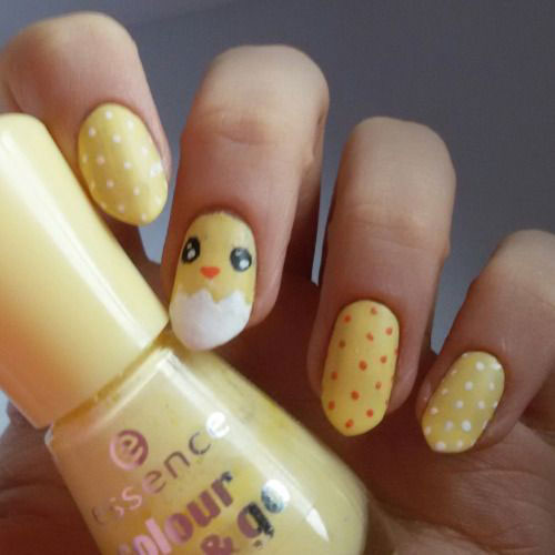 15-Easter-Chick-Nails-Art-Designs-Ideas-2017-2