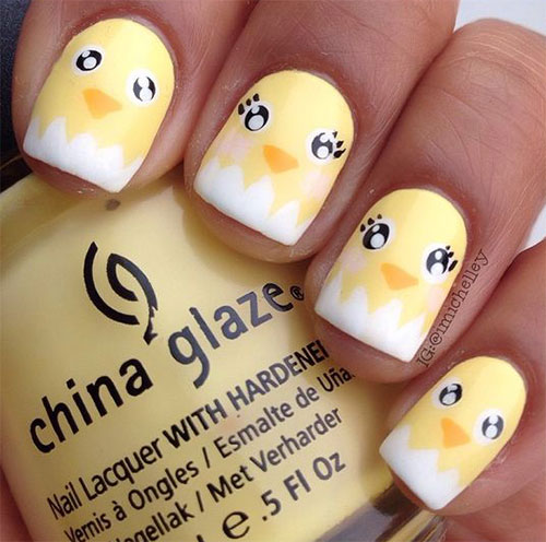 15-Easter-Chick-Nails-Art-Designs-Ideas-2017-5