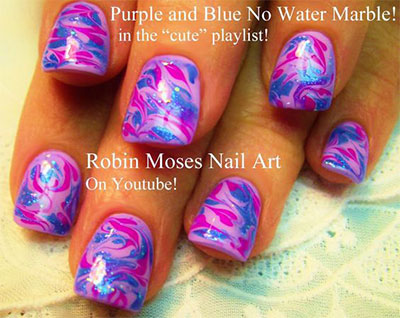 15-Without-Water-Marble-Nails-Art-Designs-Ideas-2017-2