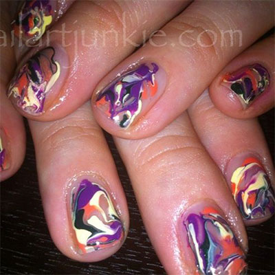 15-Without-Water-Marble-Nails-Art-Designs-Ideas-2017-3