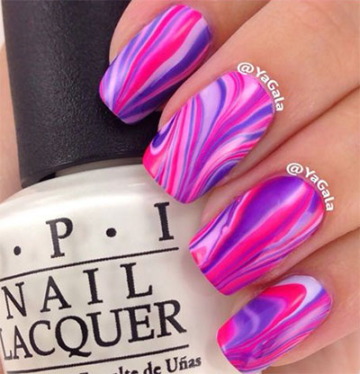 15-Without-Water-Marble-Nails-Art-Designs-Ideas-2017-6