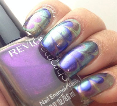 15-Without-Water-Marble-Nails-Art-Designs-Ideas-2017-7