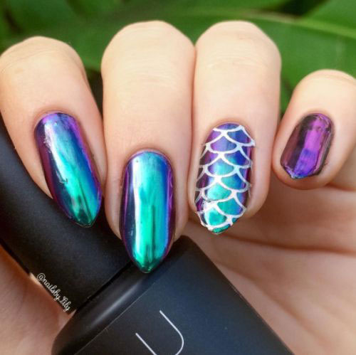 18-Best-Chrome-Nails-Art-Designs-Ideas-2017-15