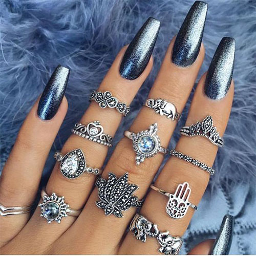 Best Nail Art Designs Gallery: 18 Best Chrome Nails Art Designs & Ideas 2017