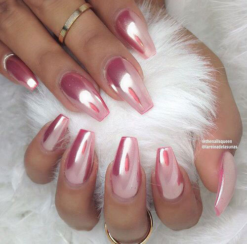 18-Best-Chrome-Nails-Art-Designs-Ideas-2017-4
