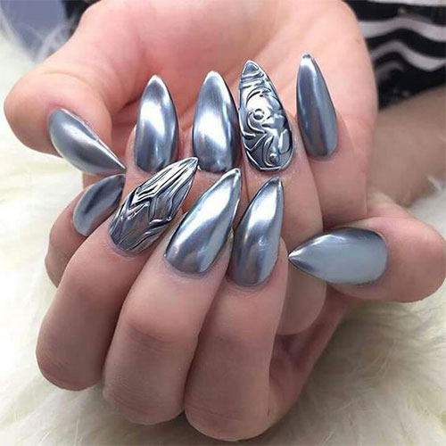 18-Best-Chrome-Nails-Art-Designs-Ideas-2017-5