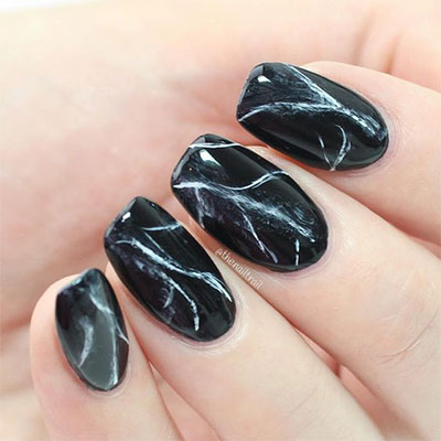 18 Black Marble Nails Art Designs & Ideas 2017 | Fabulous ...