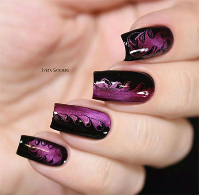 18-Black-Marble-Nails-Art-Designs-Ideas-2017-11