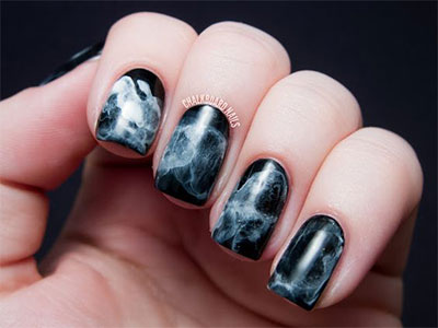 18 Black Marble Nails Art Designs Amp Ideas 2017 Fabulous