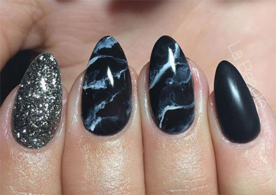 18-Black-Marble-Nails-Art-Designs-Ideas-2017-17