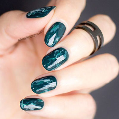 18-Black-Marble-Nails-Art-Designs-Ideas-2017-5