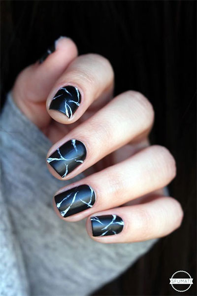 18-Black-Marble-Nails-Art-Designs-Ideas-2017-9