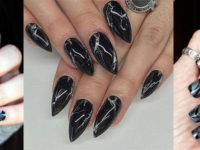 easy stepstep marble nails art tutorials for beginners