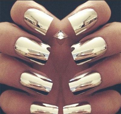18-Gold-Metallic-Chrome-Nails-Art-Designs-Ideas-2017-17