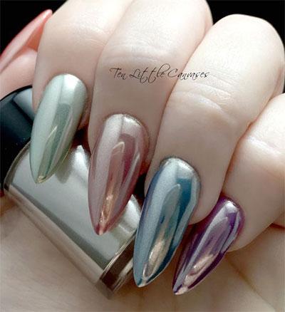 18-Gold-Metallic-Chrome-Nails-Art-Designs-Ideas-2017-5