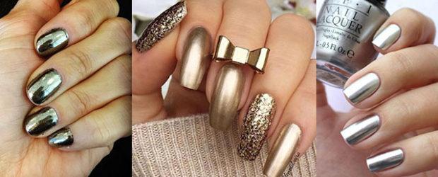 18-Gold-Metallic-Chrome-Nails-Art-Designs-Ideas-2017-f
