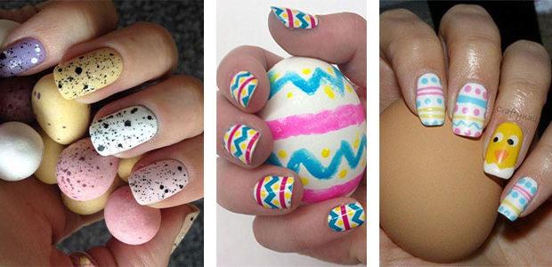 20 Best Easter Egg Nail Art Designs & Ideas 2017