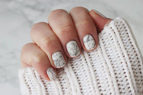 20 White Marble Nails Art Designs Amp Ideas 2017 Fabulous