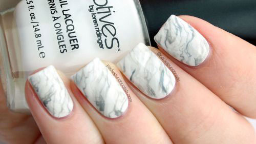 20-White-Marble-Nails-Art-Designs-Ideas-2017-17