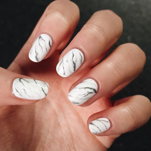 20-White-Marble-Nails-Art-Designs-Ideas-2017-6