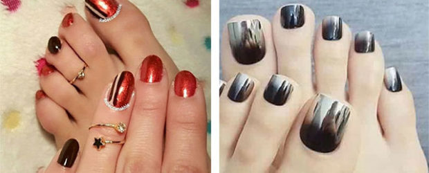 Chrome-Toe-Nails-Art-Designs-Ideas-2017-f