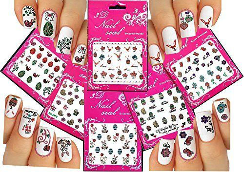 10-Easter-Nail-Art-Stickers-Decals-2017-2