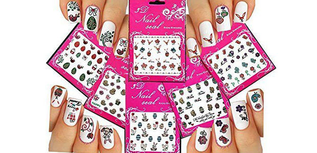 10+ Easter Nail Art Stickers & Decals 2017