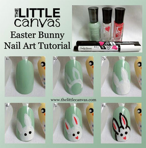 12-Easter-Nail-Art-Tutorials-For-Beginners-Learners-2017-1