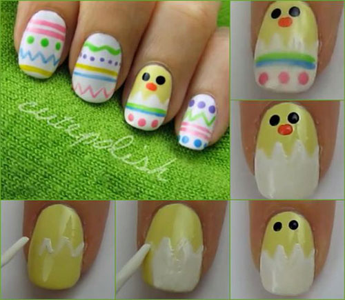 12-Easter-Nail-Art-Tutorials-For-Beginners-Learners-2017-2