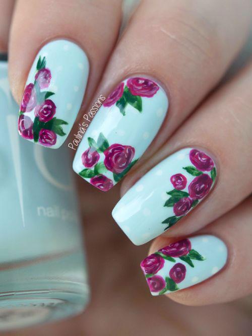 15-Pink-Floral-Nail-Art-Designs-Ideas-2017-Spring-Nails-10