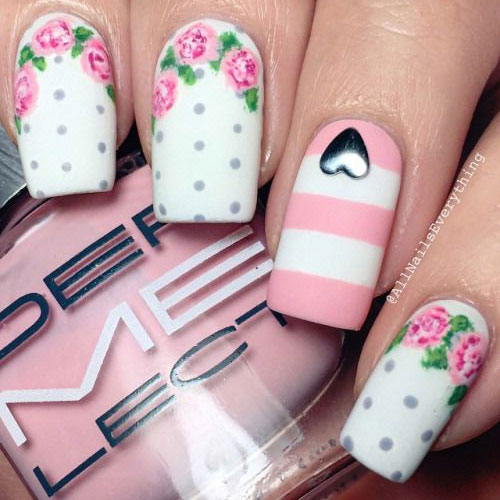 15-Pink-Floral-Nail-Art-Designs-Ideas-2017-Spring-Nails-4