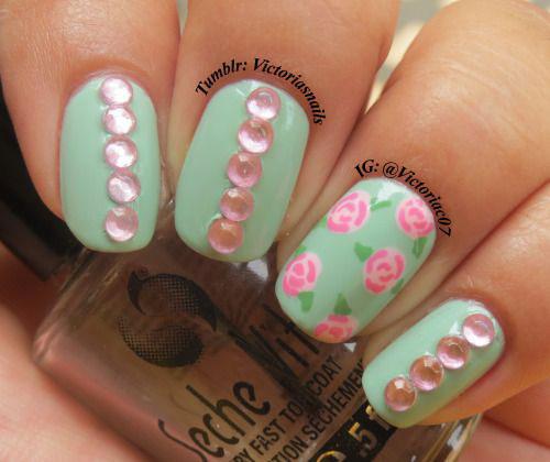 15-Pink-Floral-Nail-Art-Designs-Ideas-2017-Spring-Nails-7