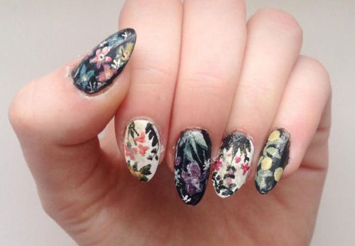 15-Spring-Black-Floral-Nails-Art-Designs-Ideas-2017-12