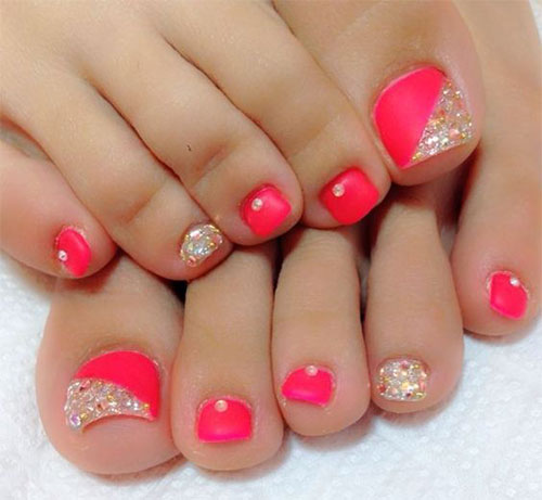 15-Spring-Toe-Nails-Art-Designs-Ideas-2017-4