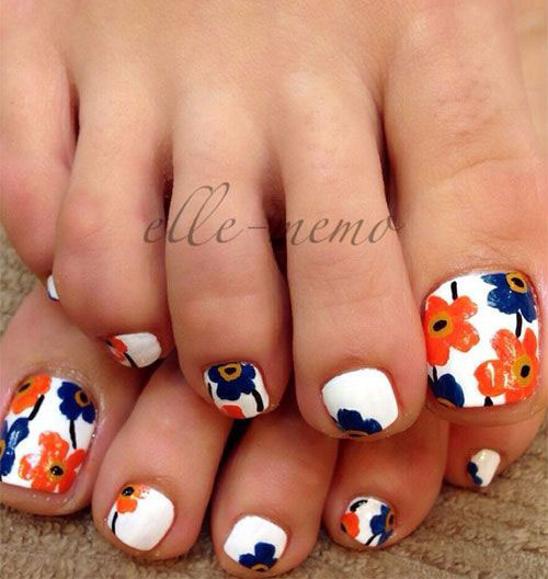 15-Spring-Toe-Nails-Art-Designs-Ideas-2017-5