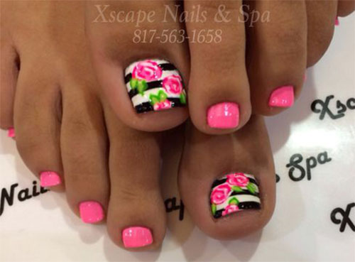 15-Spring-Toe-Nails-Art-Designs-Ideas-2017-6