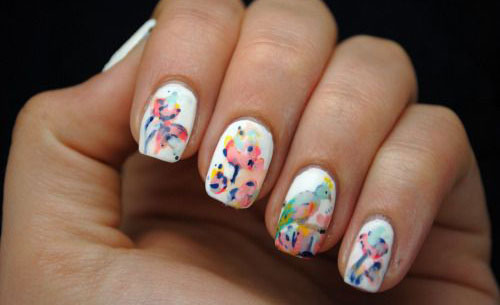 15-Vintage-Floral-Nail-Art-Designs-Ideas-2017-Spring-Nails-10