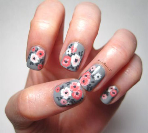 15-Vintage-Floral-Nail-Art-Designs-Ideas-2017-Spring-Nails-12