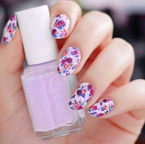 15-Vintage-Floral-Nail-Art-Designs-Ideas-2017-Spring-Nails-4