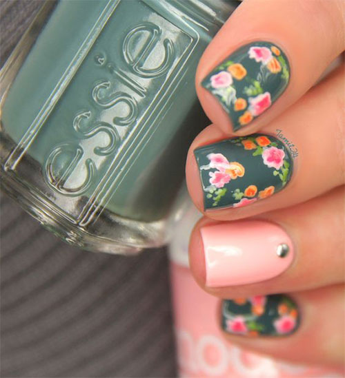 15-Vintage-Floral-Nail-Art-Designs-Ideas-2017-Spring-Nails-8