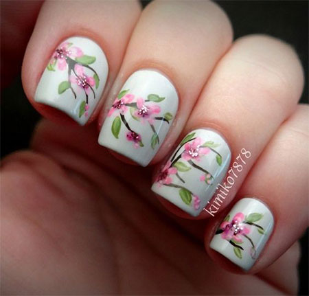 20-Cherry-Blossom-Spring-Nails-Art-Designs-Ideas-2017-13