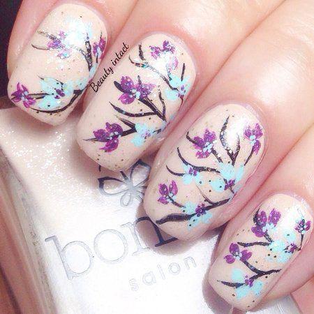 20-Cherry-Blossom-Spring-Nails-Art-Designs-Ideas-2017-9