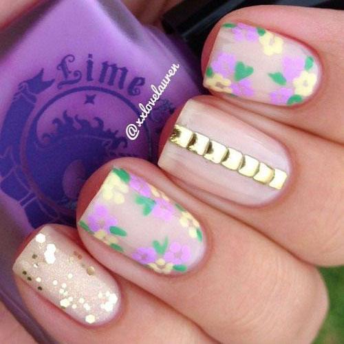 20-Simple-Easy-Spring-Nails-Art-Designs-Ideas-2017-17