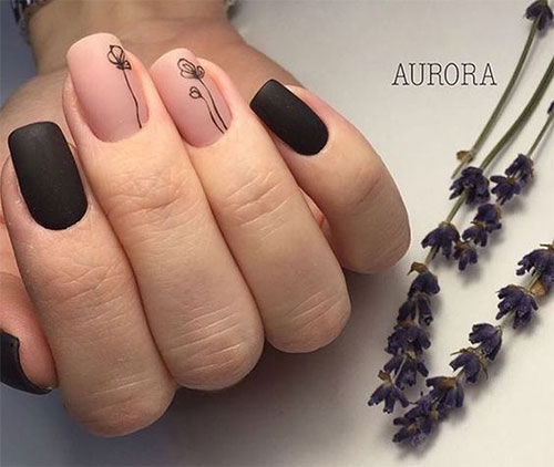 20 simple easy spring nails art designs ideas - Simple Nail Design Ideas